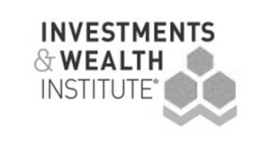 Investments and Wealth Institute logo.